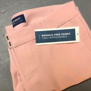 Pink Harper mid-rise dress pants